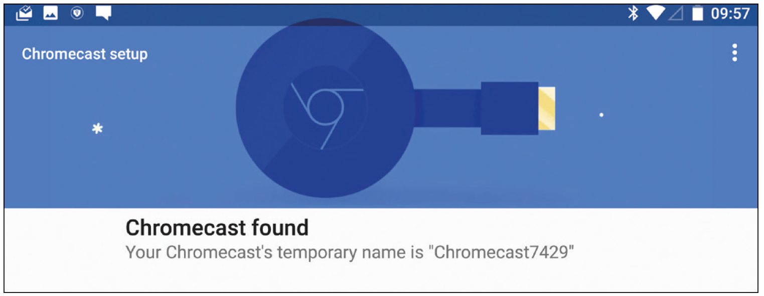 how to connect chromecast from android tablet to tv