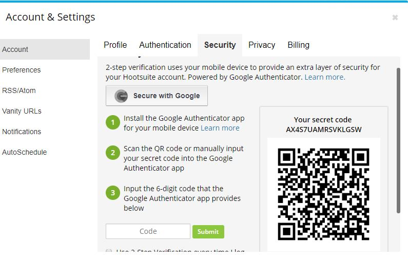 How To Set Up An Authenticator App For Two Factor Authentication Which Computing Helpdesk