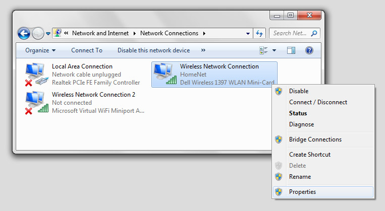 Resolving problems with a local area network