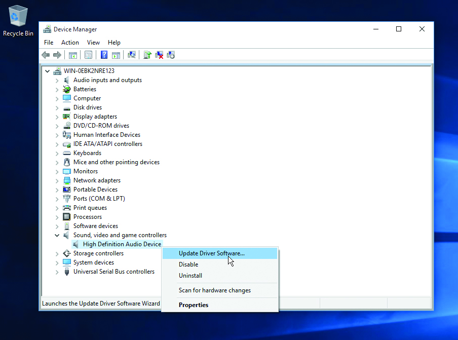 Windows 10: speaker and sound issues – Which Computing Helpdesk