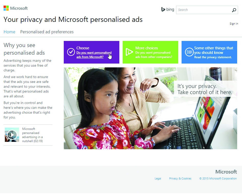 Windows 10 Privacy: turn off targeted advertising – Which