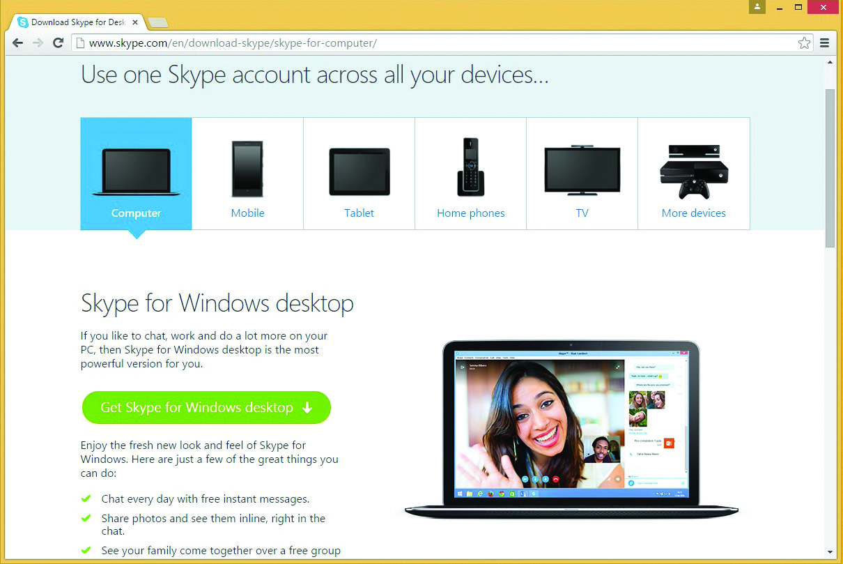 skype new version for pc