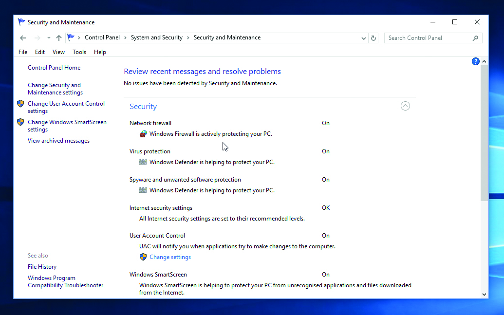 Switch on the Windows Firewall – Which Computing Helpdesk