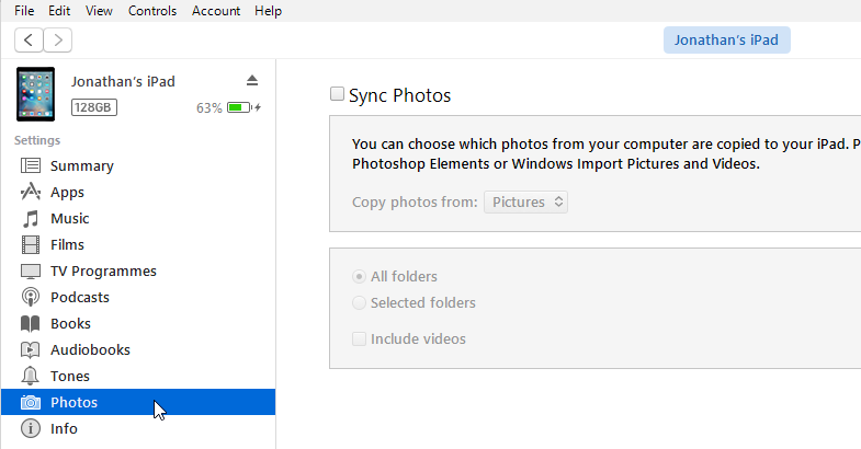 Transfer PC photos to an iPad or iPhone – Which Computing
