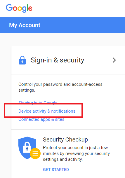 Check your Google and Android account security – Which